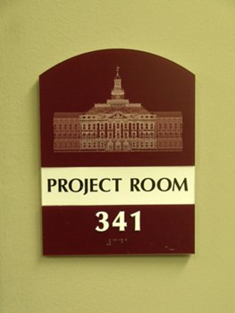 ADA and Wayfinding custom office sign 11